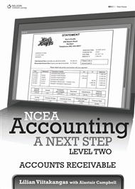 NCEA Accounting A Next Step Level Two: Accounts Receivable - 9780170229838