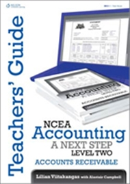 NCEA Accounting A Next Step - Accounts Receivable Teachers Guide - 9780170229852