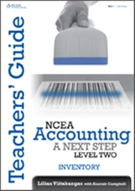 NCEA Accounting A Next Step: Inventory Teacher Resource Book - 9780170229869