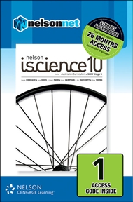 Nelson iScience 10 for the Australian Curriculum NSW Stage 5 (1 Access Code Card) - 9780170232234