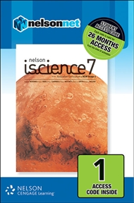 Nelson iScience 7 for the Australian Curriculum NSW Stage 4 (1 Access Code Card) - 9780170232326