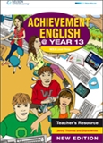 Achievement English @ Year 13 Teacher's Resource CD