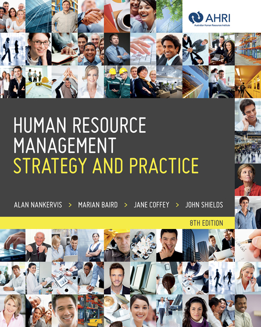 Human Resource Management: Strategy and Practice - 9780170233668