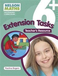 Nelson Maths Australian Curriculum 6+ Extension Task Resource Book - 9780170233798