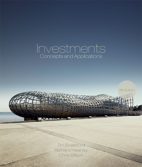 Investments: Concepts and Applications - 9780170235532
