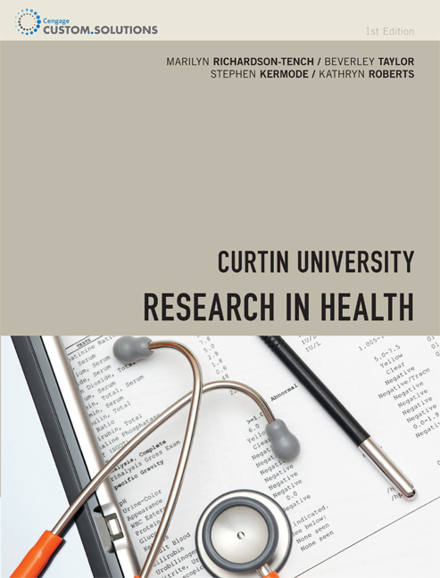 CP0861 - Research in Health - 9780170241267