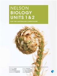 Nelson Biology Units 1 & 2 for the Australian Curriculum (Student Book with 4 Access Codes) - 9780170243247