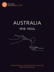 Nelson Modern History: Australia 1918 – 1950s - 9780170244084