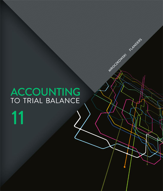 Accounting: To Trial Balance - 9780170245517