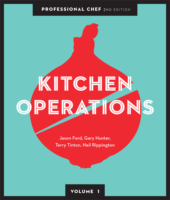 Professional Chef: Kitchen Operations (volume 1) - 9780170245555