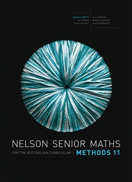 Nelson Senior Maths Methods 11 Solutions DVD - 9780170251495