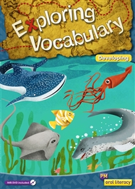 PM Oral Literacy Exploring Vocabulary Developing Big Book + IWB DVD - 9780170251693