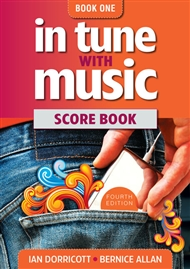 In Tune With Music Book 1 Score Book - 9780170251778