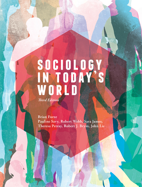 Sociology in Today's World - 9780170251808