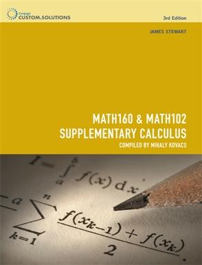 MATH160 & MATH102 Supplementary Calculus - 9780170253710