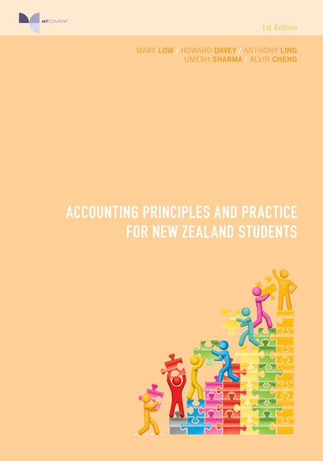 PP0869 - Accounting Principles and Practice for New Zealand Students - 9780170255004