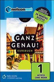 Ganz Genau! (1 Access Code Card) - 9780170257794