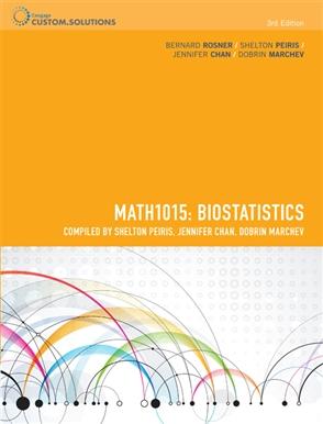 CP0896 MATH1015 Biostatistics - 9780170257916