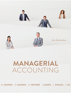 Managerial Accounting: Asia Pacific Edition - 9780170258616