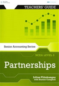 Senior Accounting NCEA Level 3: Partnerships Teacher's Guide - 9780170259040