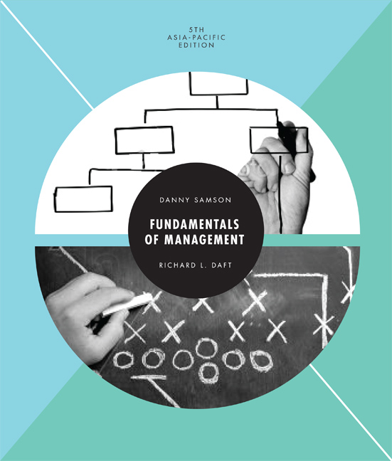 Fundamentals of Management: Asia Pacific Edition - 9780170259804