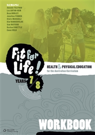 Nelson Fit for Life! Years 7 & 8 Workbook - 9780170261586