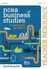 NCEA Business Studies: A Workbook @ Level 2 Teacher Resource CD - 9780170262286