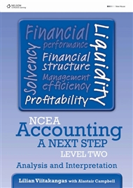 NCEA Accounting A Next Step Level Two: Analysis & Interpretation - 9780170262415