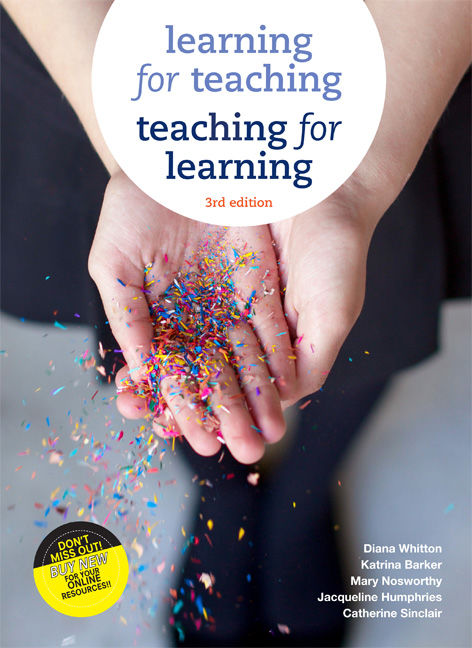 Learning for Teaching, Teaching for Learning - 9780170263368