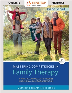 MindTap for Gehart's Mastering Competencies in Family Therapy Counseling, 4-term Instant Access - 9780170285605