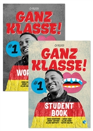 Ganz Klasse! 1 Student Book + Ganz Klasse! 1 Workbook Pack with 1 x 26 month NelsonNetBook access code - 9780170288217