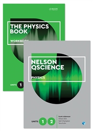 Nelson QScience Physics Student Pack Units 1 & 2 - 9780170288705