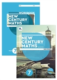 New Century Maths 7 Student Book and Workbook pack with 1 x 26 month NelsonNetBook Access code