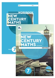 New Century Maths 7 Student Book and Workbook pack with 1 x 26 month NelsonNetBook Access code - 9780170302661