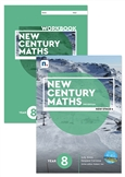 New Century Maths 8 Student Book and Workbook pack with 1 x 26 month NelsonNetBook Access code