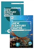 New Century Maths 9 Student Book and Workbook pack with 1 x 26 month NelsonNetBook Access Code