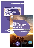 New Century Maths 9 Advanced Student Book and Workbook pack with 1 x 26 month NelsonNetBook access code