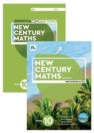 New Century Maths 10 Student Book and Workbook pack with 1 x 26 month NelsonNetBook Access code - 9780170302708
