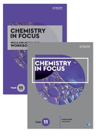 Chemistry in Focus Year 11 Skills and Assessment Pack with 1 x 26 month NelsonNetBook access code - 9780170302760