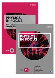 Physics in Focus Year 11 Skills and Assessment Pack with 1 x 26 month NelsonNetBook access code - 9780170302784
