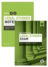 A+ Legal Studies Student Success Pack - 9780170304009