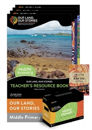 Our Land, Our Stories: Middle Primary Resource Pack - 9780170328050