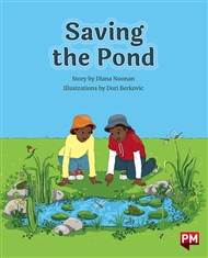 Saving the Pond - 9780170328241