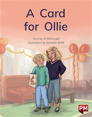 A Card for Ollie - 9780170329972