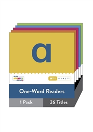 Nelson Phonics-in-a-Box 1: One-Word Readers X 26 - 9780170332088