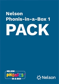 Nelson Phonics-in-a-Box 1: 6 pack - 9780170332170