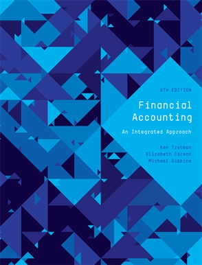 Financial accounting buy textbook ken trotman 9780170349680 financial accounting an integrated approach fandeluxe Choice Image