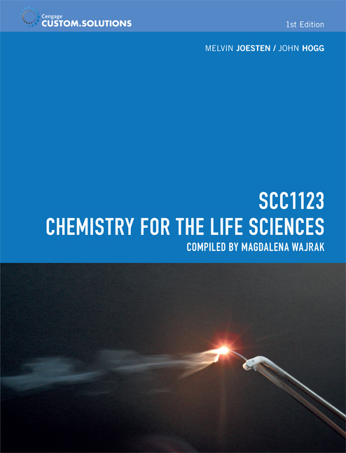 CP0953 - SCC1123 Chemistry for the Life Sciences - 9780170350723