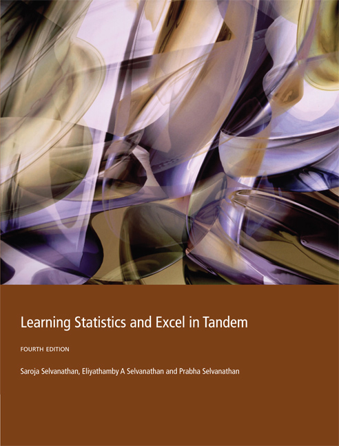 Learning Statistics and EXCEL in Tandem - 9780170351089