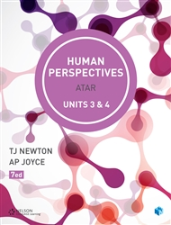 Human Perspectives Units 3 & 4 (Student Book with 4 Access Codes) - 9780170351218